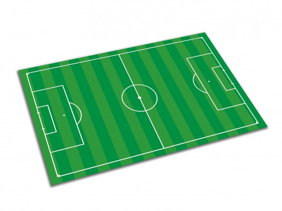 Campo de chapas para fútbol