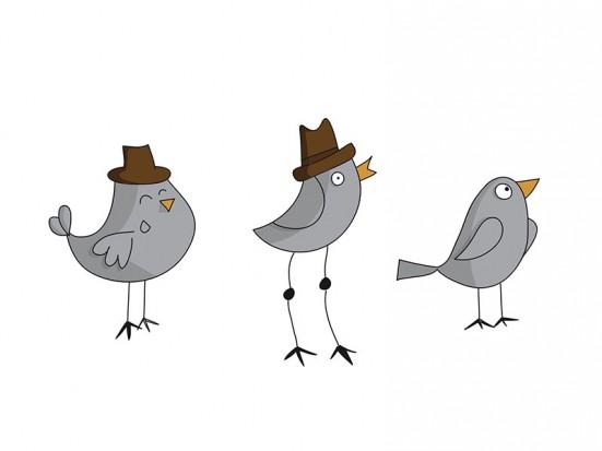 Vinilo Pájaros